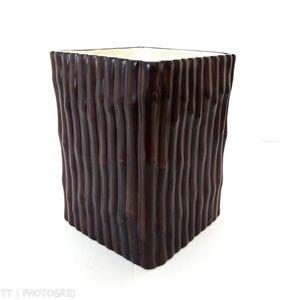 Martha Stewart bamboo design vase/planter